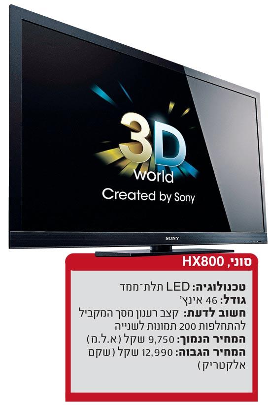 טלוויזיה תל מימד סוני / צלם: יחצ